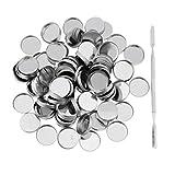100pcs Vuoto Padelle Scatole Magnetiche Palette + Stick Ideale per Ombretto Blush Crema Polvere - #1