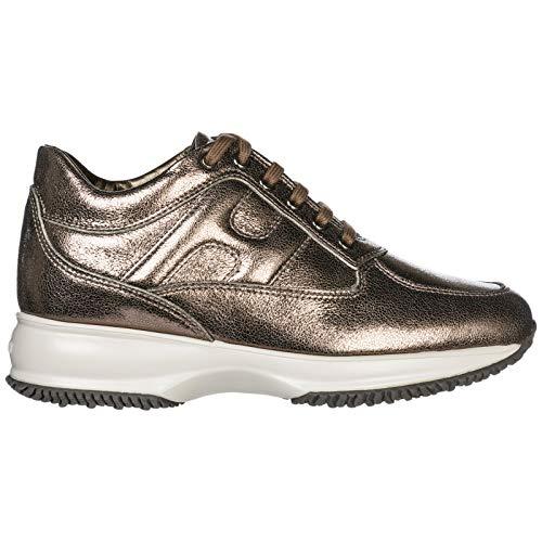 0acfb12d4e Hogan Scarpe Sneakers Donna in Pelle Nuove Interac