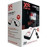 Xsories X-Project Vidéoprojecteur portable LED 40 lumens 640 x 360 USB Blanc