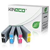 4 Tintenpatronen Kompatibel zu Epson T7891 - T7894 für Epson Workforce Pro WF-5620 DWF, WF-5110DW, WF-5190DW, WF-5690DWF, WF-5100 Series, WF-5600 Series - Schwarz 77ml, Color je 49ml