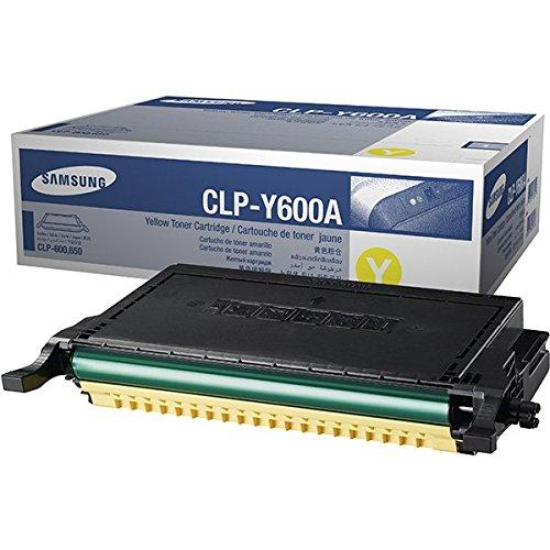 Preisvergleich Produktbild Samsung CLP-Y600A/ELS Toner, 4.000 Seiten, gelb