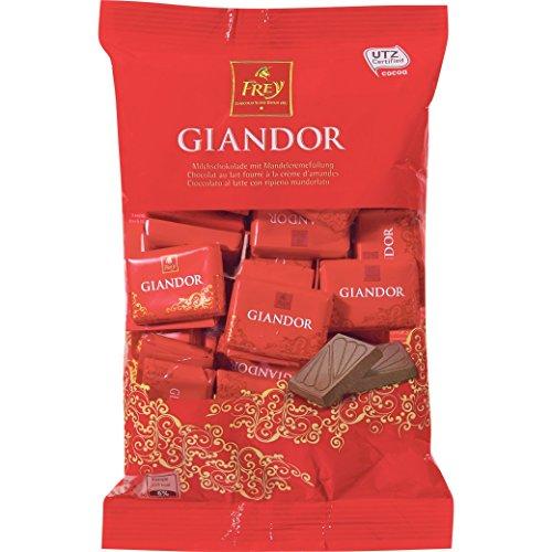 Schokolade - Milchschokolade - 'Naps Giandor' von Chocolat Frey Schweiz - 300g, aus dem...