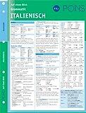 PONS Grammatik auf einen Blick Italienisch: kompakte Übersicht, Grammatikregeln nachschlagen -