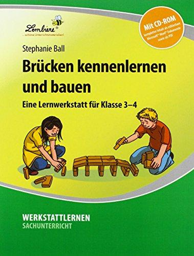 Preisvergleich Produktbild Brücken kennenlernen und bauen (Set): Grundschule, Sachunterricht, Klasse 3-4. Kopiervorlagen, Schnellhefter