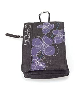 Golla Smart Bag for Mobile Devices/MP3 Players/Cameras - Riley Brown/Purple