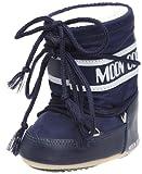 Tecnica MOON BOOT MINI NYLON BLU, Baby Jungen Stiefel, Blau (Blue 002),  EU 19-22 (UK 3/5,5)