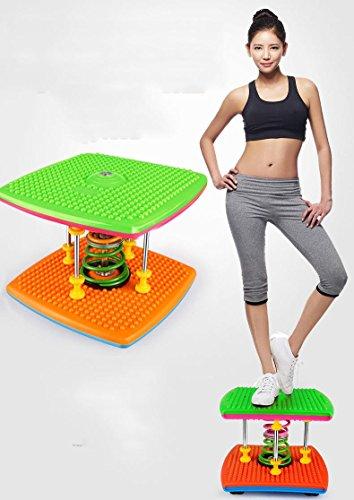 LMZZGAOYANQING Macchina di vita Pro con doppia molla torsione di Bluetooth musica danza , green