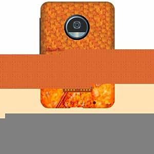 Moto Z2 Play Hard Plastic Back Cover - Multicolor Designer Cases Cover by Printland
