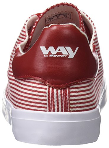 Beppi Canvas Shoe, Scarpe da Fitness Donna Rosso (Red)