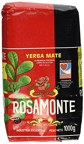 Yerba Mate Rosamonte 1kg (With Stems)