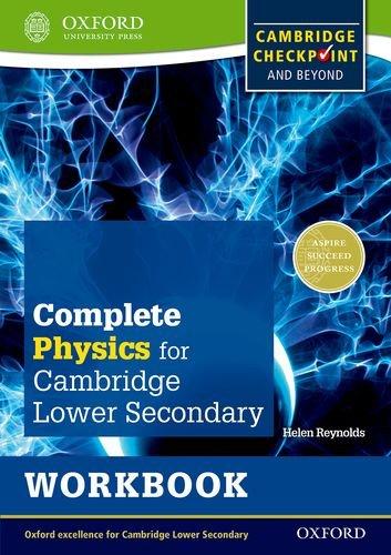 IGCSE complete physics for Cambridge secondary 1. Workbook. Per la Scuola media. Con espansione online (Checkpoint Science)