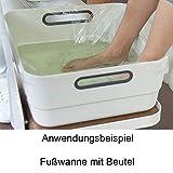 Beutel Groß für Fußwanne - Fuß-Badewanne, Kosmetex, bis Fußschüssel ca. 40 x 40 cm u. Runde, 100 Stück