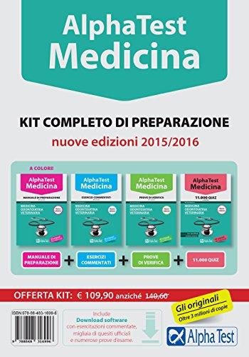 Alpha test. Medicina, odontoiatria, veterinaria. Kit completo di preparazione. Con test di simulazione (Testuniversitari)