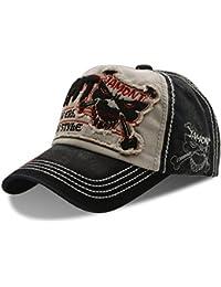 Moda Papá sombreros gorra de béisbol de algodón - UPhitnis Unisex gorras de  béisbol ajustable con bd73a8e89ab