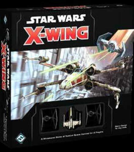 Star Wars Games FFGSWX01 X-Wing 2nd Edition Star Wars Mini-Tischspiel, Mehrfarbig (Star Wars Miniatures Jedi)