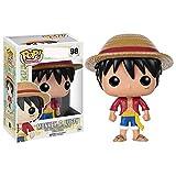 SZHSM One Piece Action Figure, for Enfants Ados Homme et Anime Fan Jouet Modèle Anime PVC Figure Action Figure Figure Carte Au Trésor (Couleur : Luffy)...