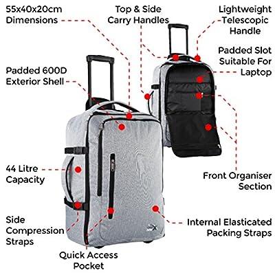 Sac à dos de Voyage/ Bagage à Main/ Bagage Cabine approuvé pour les Trajets Aériens