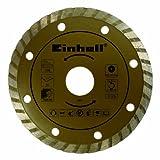Einhell Diamant Turbo Trennscheibe passend für Universal Handkreissägen (110x22,2 mm)