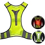 Safety Vest X-Shape Reflective Outerdo Ultra Thin Breathable Outdoor Sports Cycling Running Reflective Vest Sport Vest Motorcycle Traffic Police Driver/Shoulder/Chest/Back Protector