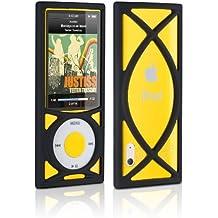 "DLO ""Roll Case"" - Funda protectora antideslizante de silicona para iPod Nano 5G"