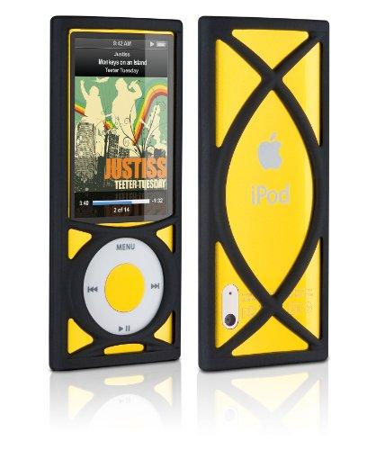 DLO Roll Case Silikontasche/Schutzhülle für Apple iPod Nano 5G, inkl Anti-Rutsch Noppen Ipod Nano Jacket