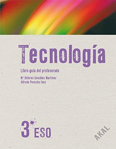 Tecnología 3º ESO  Libro del Profesor + CD (Enseñanza secundaria) - 9788446027379