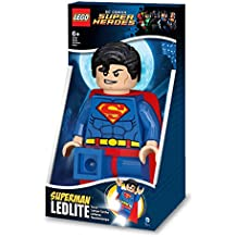 LEGO DC Comics - Linterna Ledlite con diseño de Superman Torch (812751L)