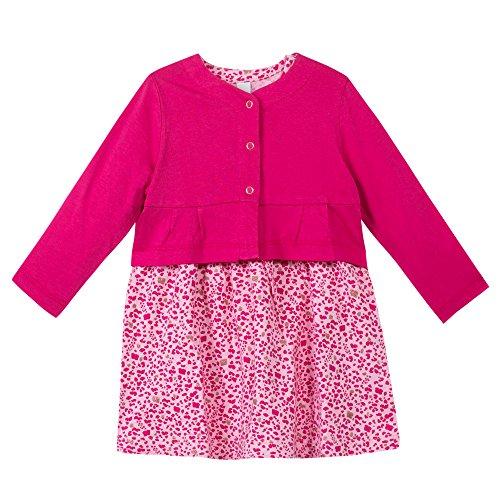Esprit Kids Baby-Mädchen Bekleidungsset Kombi, Rosa (Pink 660), 86
