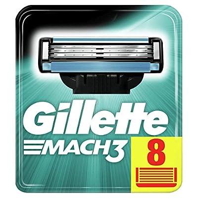 Gillette Mach3 Rasierklingen x8