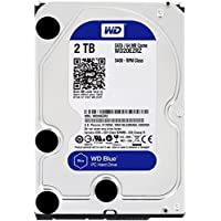Western Digital Blue WD20EZRZ Disque Dur Interne 3,5 pouces 2 To SATA 6.0Gb/s