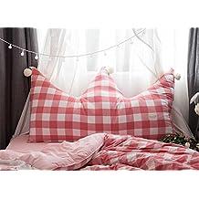 Inicio decorar cojines / cómodos ropa de cama grandes cojines / corona de tela escocesa / pelota linda , rose , 1.5m