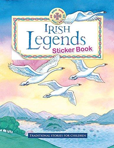 Irish Legends Sticker Book by Yvonne Carroll (1-Feb-2010) Pamphlet