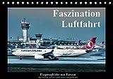 Faszination Luftfahrt (Tischkalender 2017 DIN A5 quer): Flugzeugbilder aus Europa (Monatskalender, 14 Seiten ) (CALVENDO Mobilitaet)