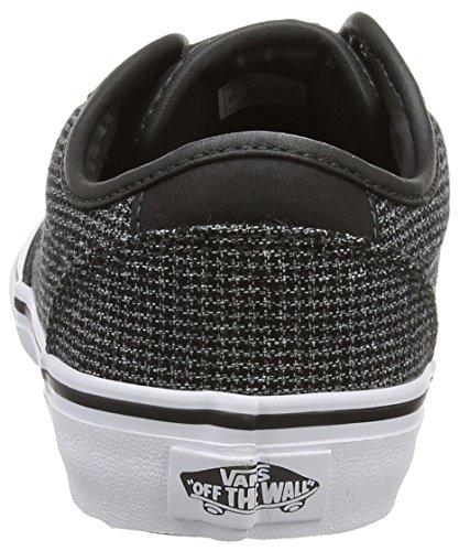 Vans Atwood Deluxe, Baskets Basses Mixte Enfant Gris (Mixed/Raven/Gray)