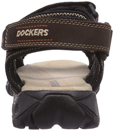 Dockers by Gerli 36LI002-400360 Herren Sandalen Braun (schoko 360)