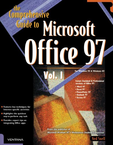 The Comprehensive Guide to Microsoft Office 97 por Ned Snell