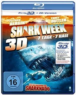 Shark Week - 7 Tage, 7 Haie [3D Blu-ray + 2D Version]
