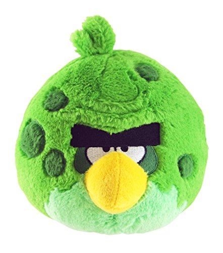 """Angry Birds - Space - Green Space Bird Plush - 12.7cm 5"""""""