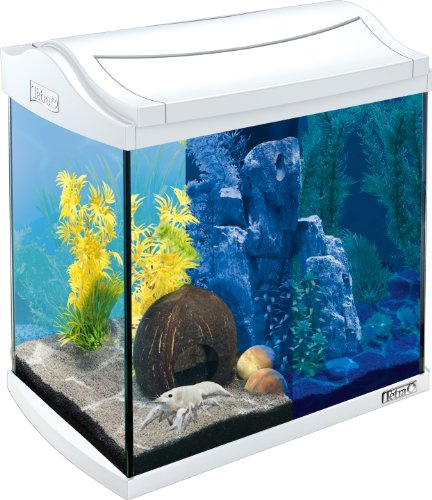 Tetra AquaArt LED Aquarium-Komplett-Set, 30 L, weiß