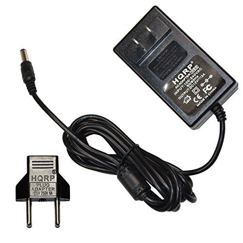 HQRP Ladegeraet / Netzadapter für Grace Digital GDI-IR2600 INNOVATOR-X Wi-Fi Internet Radio; GDIIR2600 + HQRP Euro Stecker-Adapter