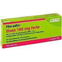 Preisvergleich für Floradix Eisen 100 mg forte Filmtabletten 20 stk