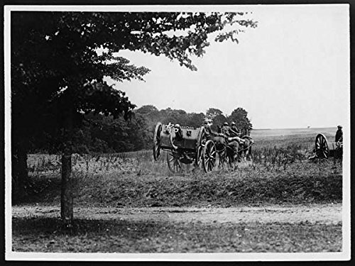 poster-note-the-gun-in-air-through-going-over-a-bank-royal-horse-artillery-action-france-during-worl