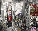 empireposter - New York - Times Square 2  - Größe (cm), ca. 50x40 - Mini-Poster, NEU -