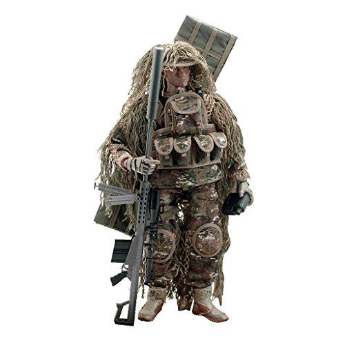 sharprepublic 12 '1/6 De Acción De Juguete Sniper Figura del Soldado Juego De