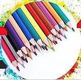 BaBaSM Lebhaft 24 Farbe Set Zeichnung Bleistift Skizzieren Bleistift für Kinder Erwachsene, Künstler & Sketchers Geschenk für die Schule Saison