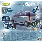 Valeo 632015 Beep and Park - Asistente de estacionamiento con pantalla LCD y 4 sensores