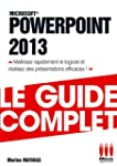 GUIDE COMPLET�POWERPOINT 2013