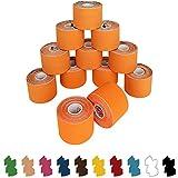 12 Rollen Kinesiologie Tape 5 m x 5,0 cm in verschiedenen Farben