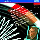Shostakovich: Symphony 15, From Jewish Folk Poetry
