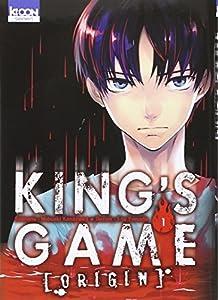 King's Game Origin Prix découverte Tome 1